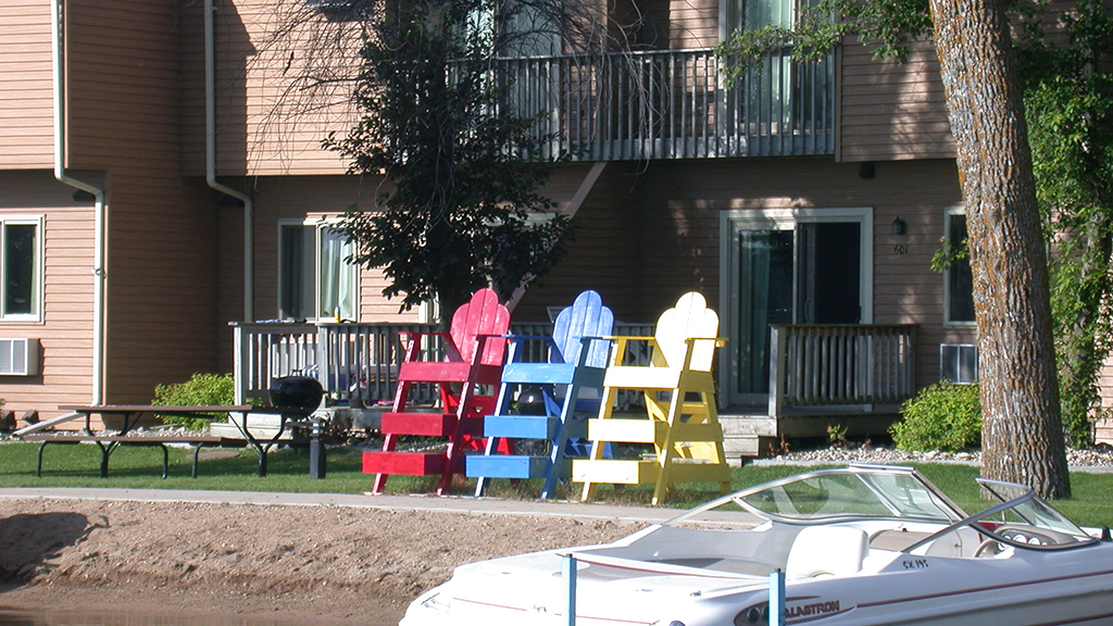 43 Pic colorful beach chairs